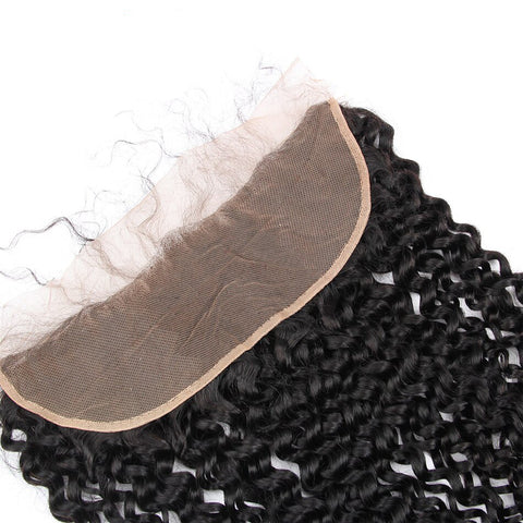 Image of 13x4 lace frontal deep wave