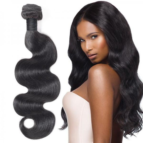 Image of Soul Lady Indian Body Wave Virgin Hair 3 Bundles Human Hair Weave