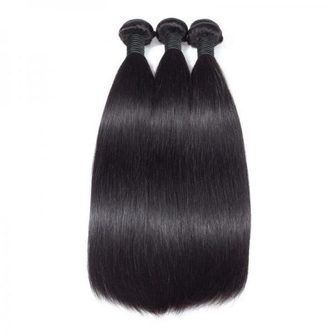 Image of Soullady hair Straight Indian Hair wave 3 Bundles