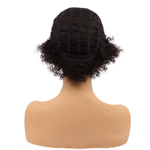 New style American African fluffy human hair wig