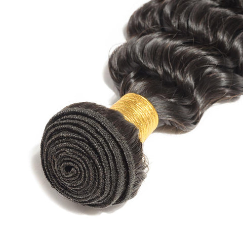 Soul Lady Peruvian Deep Wave Virgin Hair 4 Bundles Human Hair Weave