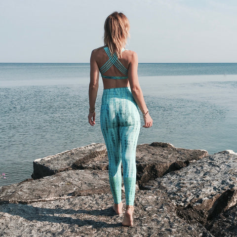 Leggings - Aquamarine