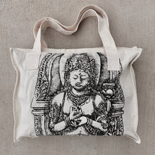 Load image into Gallery viewer, Natural Canvas Tote - Buddha