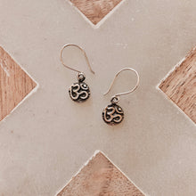 Load image into Gallery viewer, OM Earrings - Silver