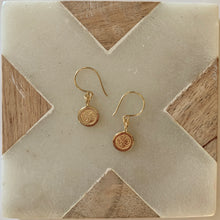 Load image into Gallery viewer, OM Earrings - Gold