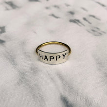Load image into Gallery viewer, Be Happy Ring