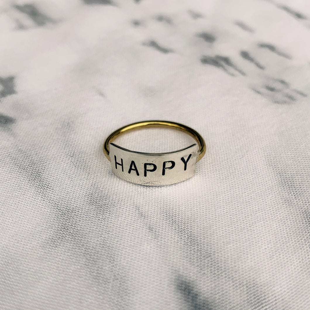Be Happy Ring