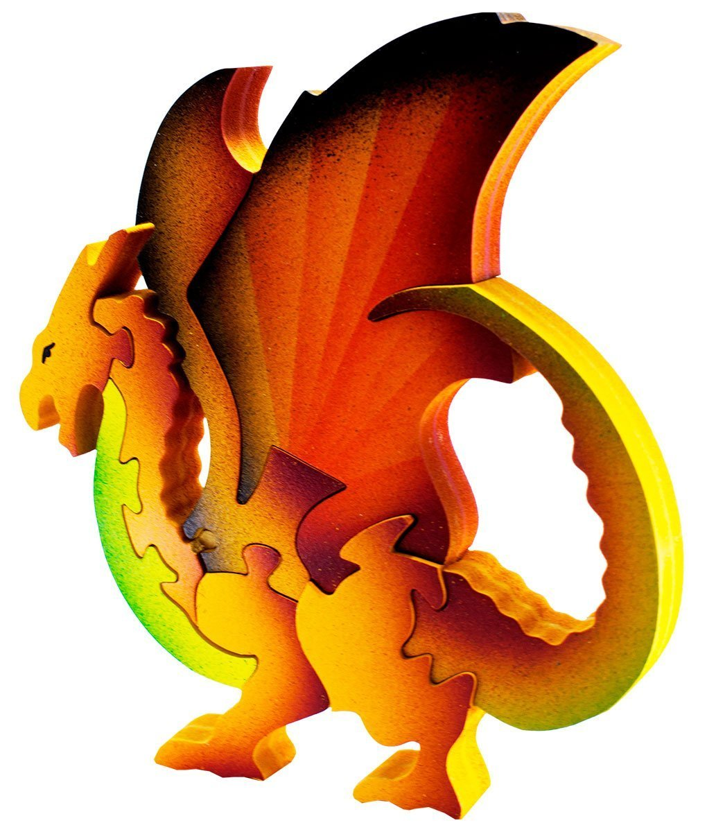 Dragon naranja