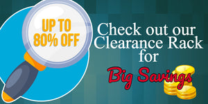 Clearance prices on beads, charms and jewelry making supplies.