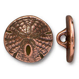 Copper Sand Dollar Buttons