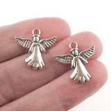 Silver Angel Charms