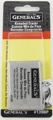 General's Kneaded Art Eraser for Charcoal, Graphite, Pastels