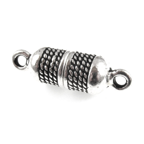 Silver Rope Magnetic Clasp