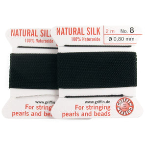 Black silk thread