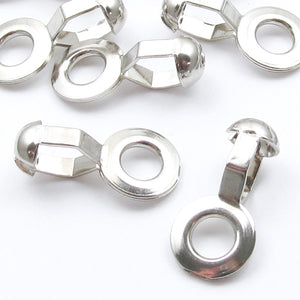 Stainless Steel Loop Connectors for #10 Ball Chain, Heavy Duty (25 Pieces)
