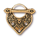Gold Temple Toggle Clasp