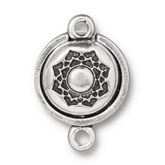 Silver Lotus Magnetic Clasp