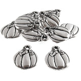 Silver Harvest Pumpkin Charms
