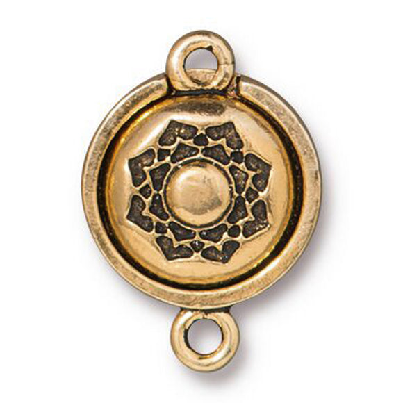 Gold Lotus Magnetic Clasp