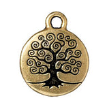 Gold Tree of Life Charms