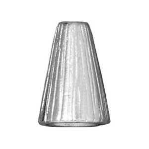 Silver Tall Radiant Cone