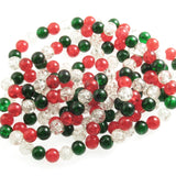 8mm Christmas Bead Mix