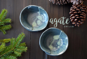 DDG Nourish Stoneware Collection: AGATE, Medium Hand Formed Bowl Set