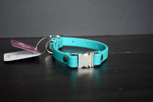 Design Your Own - The Underhill QR BT Collar, Nickel Biothane Dog Collar