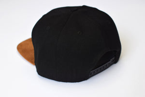 Pawthentic Threads: Leather Patch Snapback Hat
