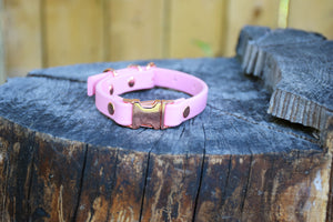 Design Your Own - The Halfling QR BT Collar, Biothane Dog Collar