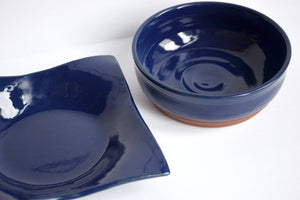 DDG Nourish Stoneware Collection: FLITWICK, Medium Bowl & Platter Set