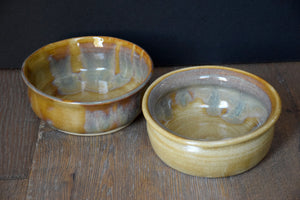 DDG Nourish Stoneware Collection: HONEY, Medium Bowl Set
