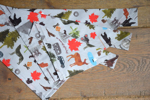 Dog Bandana - Strong & Free Cotton Dog Scarf