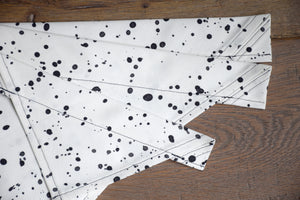 Dog Bandana - Dalmatian Dots Cotton Dog Scarf