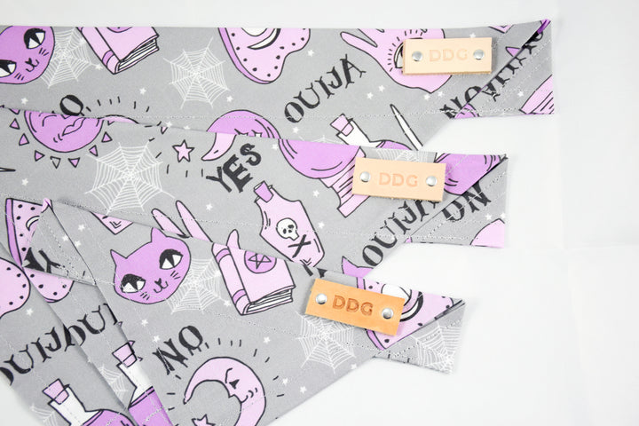 Dog Bandana - Seance Halloween Cotton Dog Scarf
