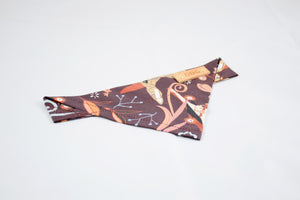 Dog Bandana - Tortoise and the Hare Cotton Dog Scarf