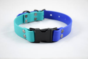 Design Your Own - The Elessar QR BT Collar, Biothane & Black Dog Collar
