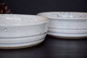 DDG Nourish Stoneware Collection: STRACCIATELLA, Large Bowl Set