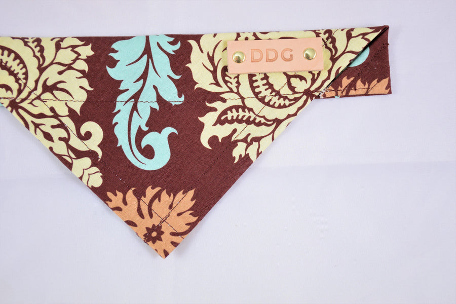 "Dog Bandana - ""Hope Heels"" Rescue Series Cotton Dog Scarf"