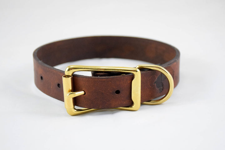 Design Your Own - The Elessar Collar, Leather Dog Collar