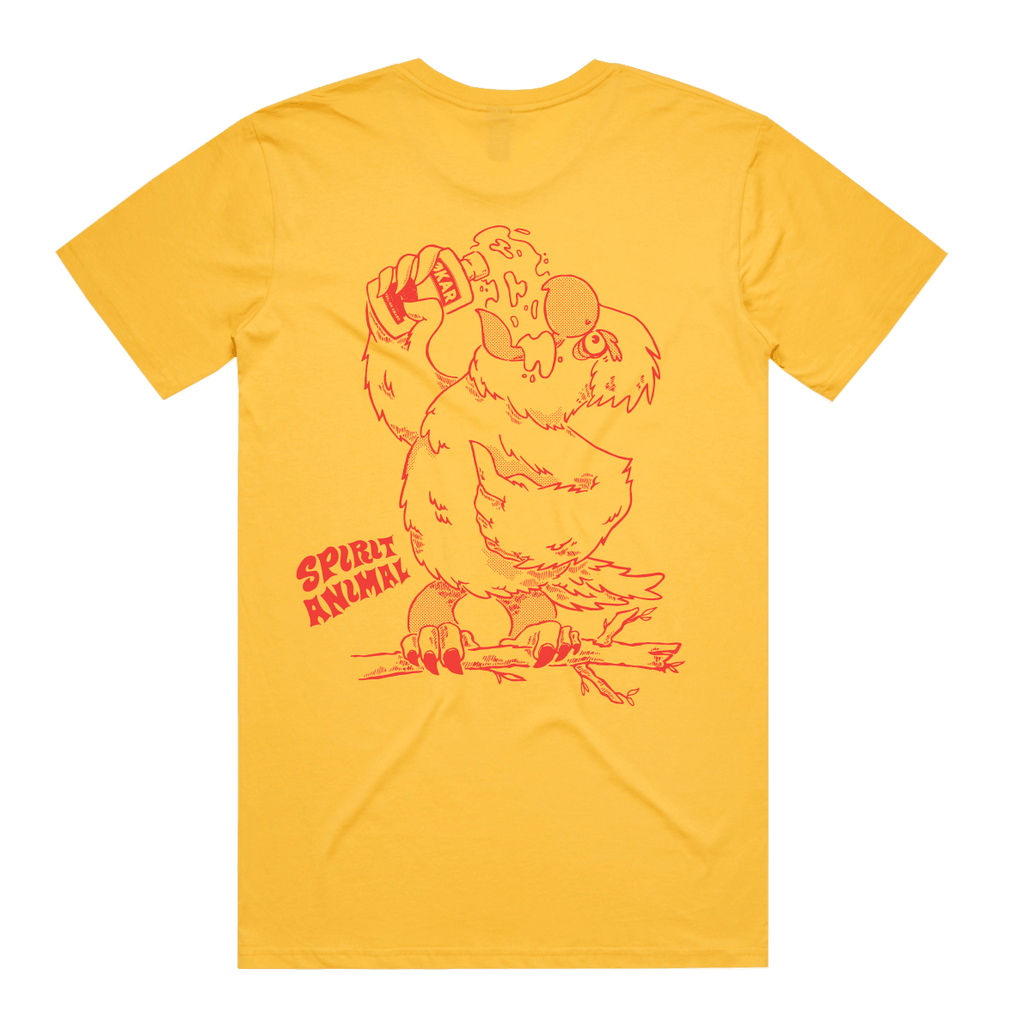 Spirit Animal Tee: Mustard Galah