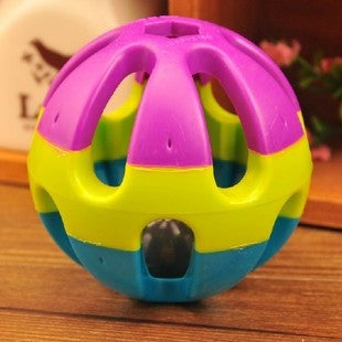 Jingle Ring Ball Dog toy