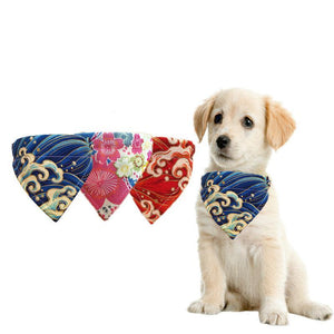 Dog Collar Scarf Neckerchief Bandana