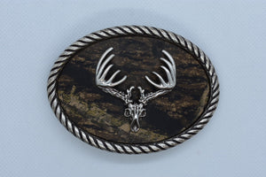 custom belt buckles Deer Skull