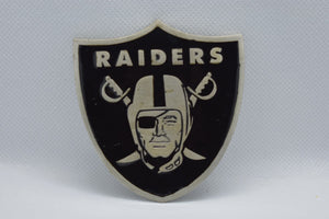 custom belt buckles - raiders
