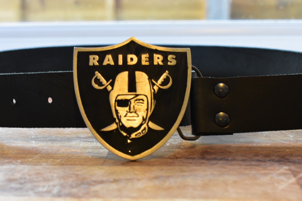 Custom Belt Buckles Raiders