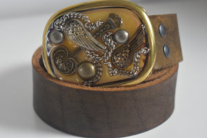 Custom Belt Buckles Angel Wings