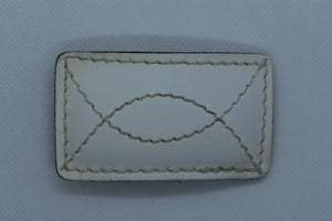 custom belt buckles white leather cowboy western