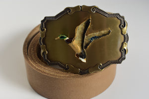 Custom Belt Buckles -The Flying Duck