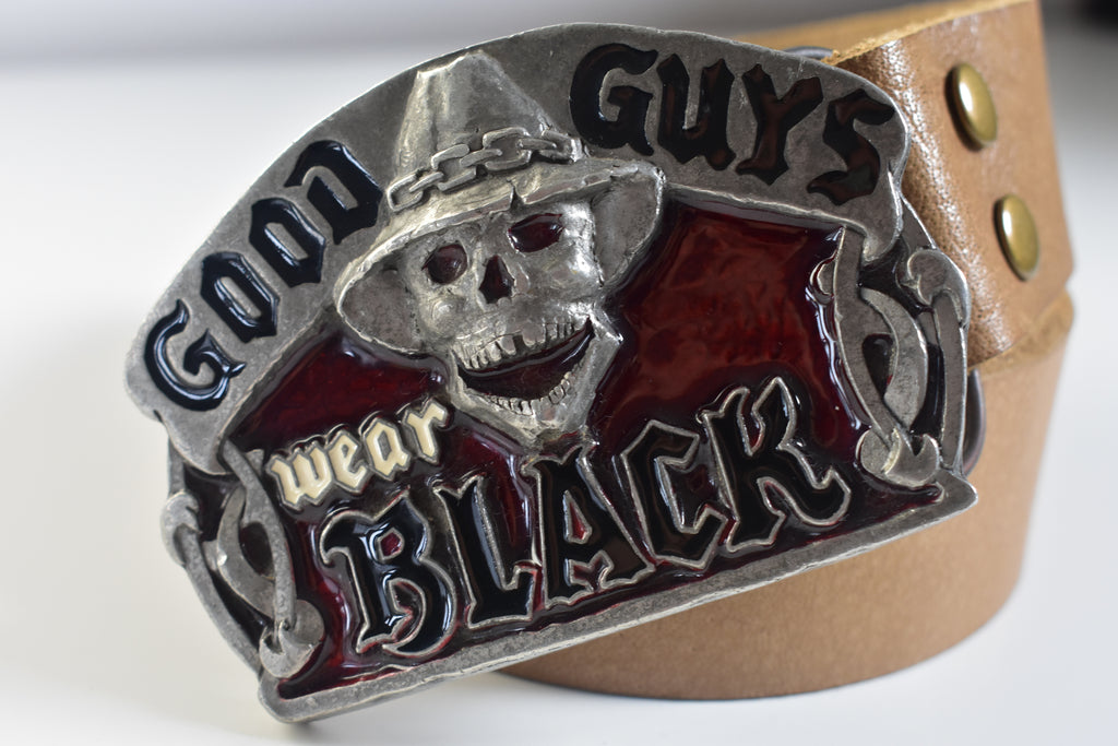 Belts Buckles Skull GOOD GUYS